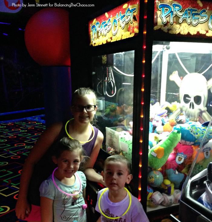 Arcade at Glo Mini Golf