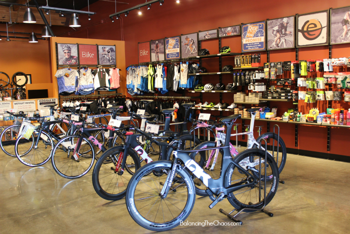 Endurance House Orange County, Aliso Viejo, Bike sizing