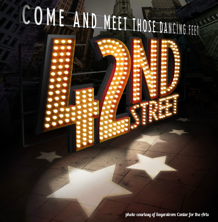 42nd street, Segerstrom Center For The Arts
