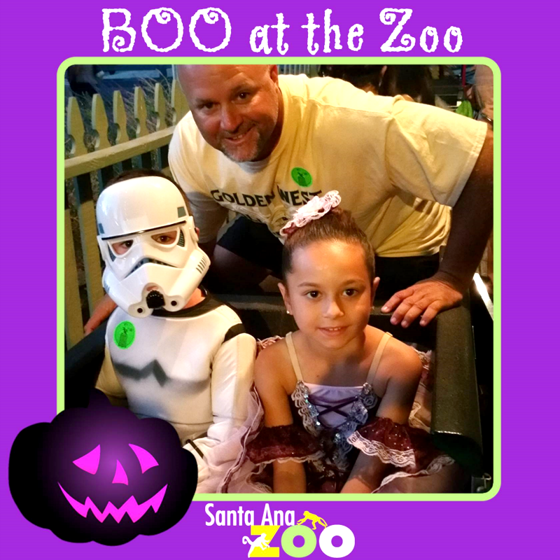 Boo at the Santa Ana Zoo with Graphics
