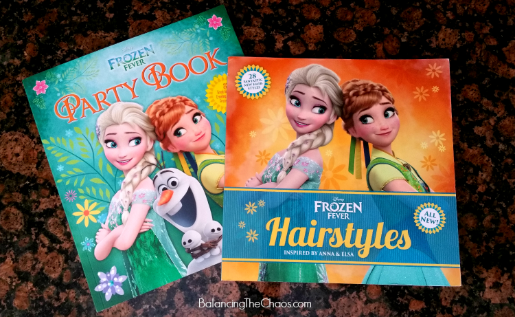 Disney Frozen Fever Books