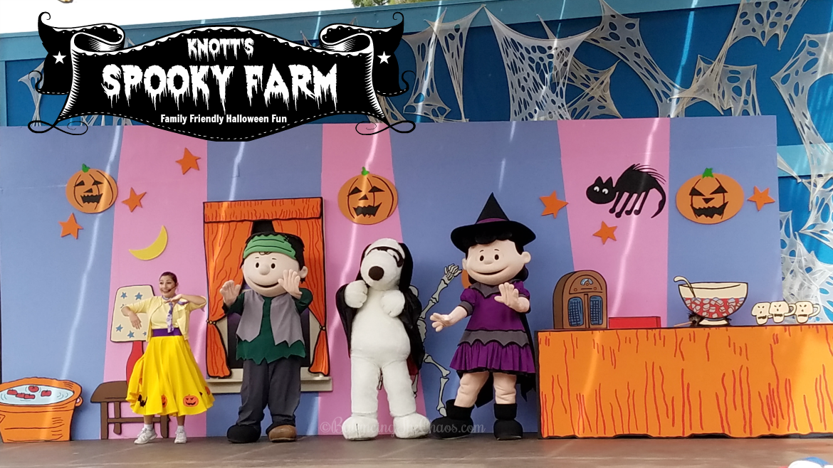 Knotts Spooky Farm Family Friendly Halloween Fun