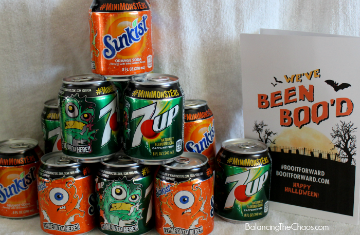 MiniMonster Cans 7UP® and Sunkist®