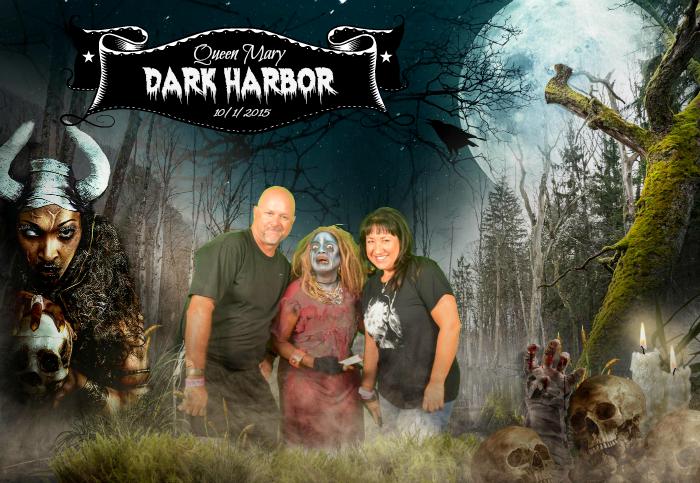 Queen Mary Dark Harbor Photo