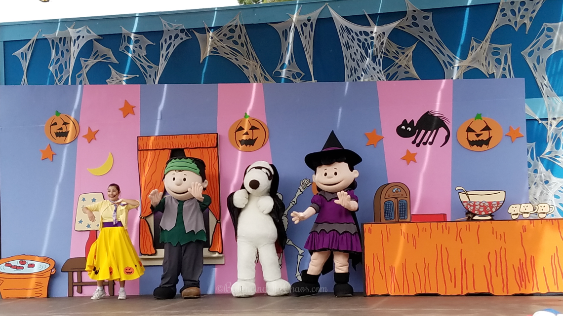 The Monsters are Coming at Camp Snoopy Knotts Spooky Farm