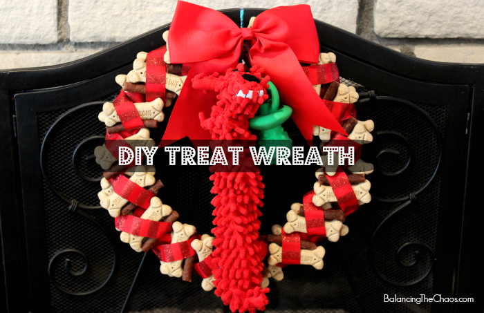 DIY Treat Wreath TreatThePups