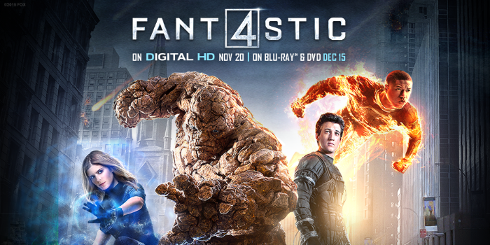 Fantastic Four BluRay DVD