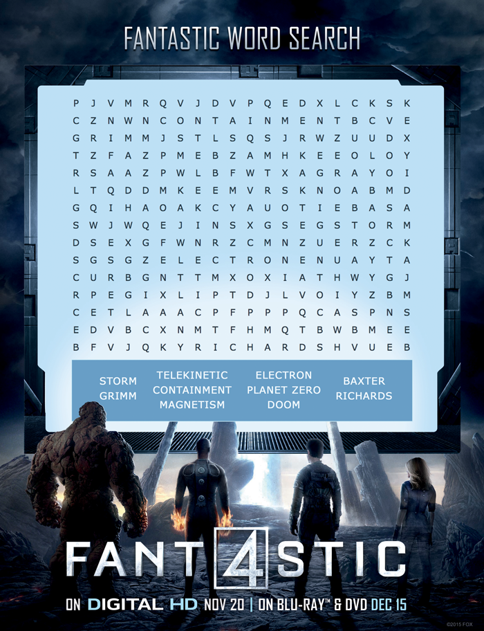 Fantastic-Four-Word-Search