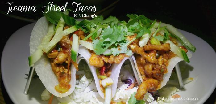 Jicama Street Tacos PF Changs