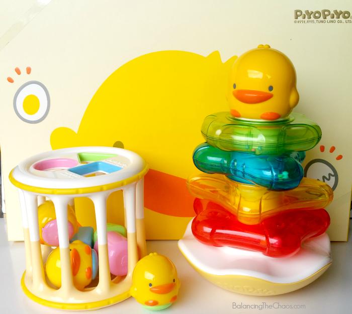 Piyo Piyo Baby Toys Gift Set