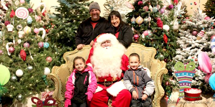 Santa at Irvine Park Railroad