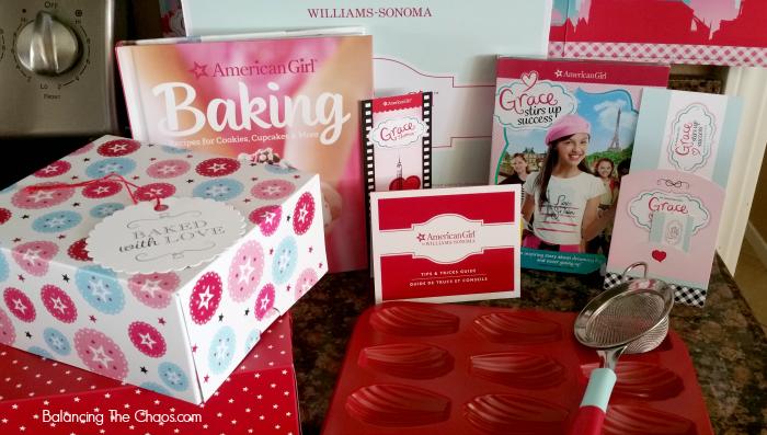American Girl Williams Sonoma Madeleine Bakeware Set