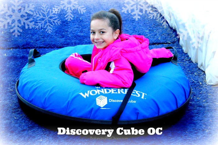 DiscoveryCubeOC CubeWinter snow fun Winter Wonder Fest