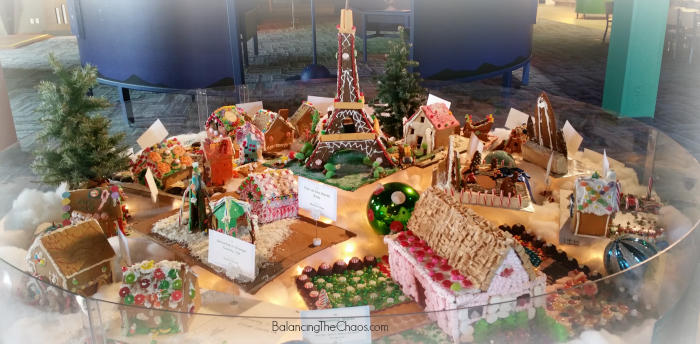 Science of the Gingerbread Entries at Discovery Cube OC