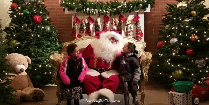 Special Time with Santa Christmas Train at Irvine Park Railroad