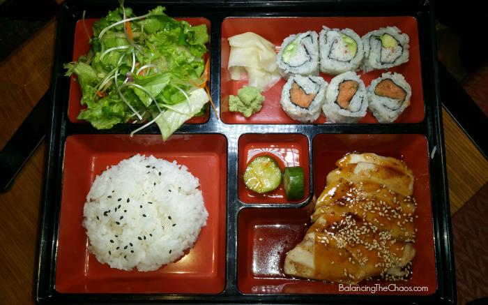 Sushi Roku Bento Box Teriyaki Chicken