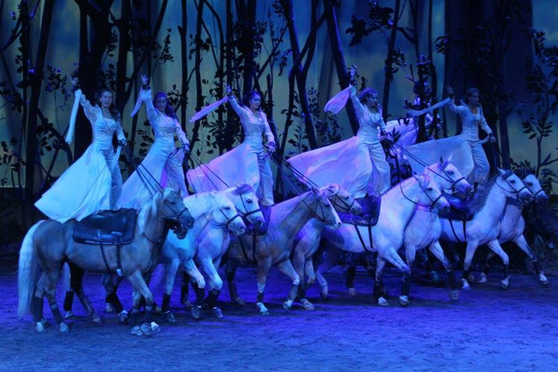 Cavalia Odysseo Horse Stunts