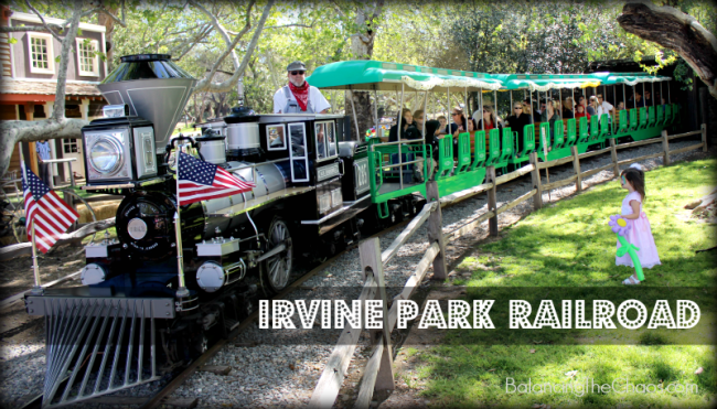 Irvine Park Railroad 23rd anniversary celebration
