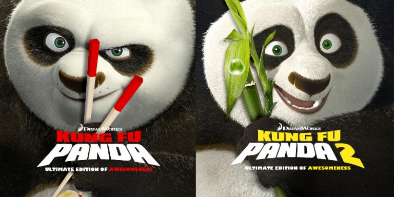 Kung Fu Panda (Ultimate Edition Of Awesomeness) (Blu-ray