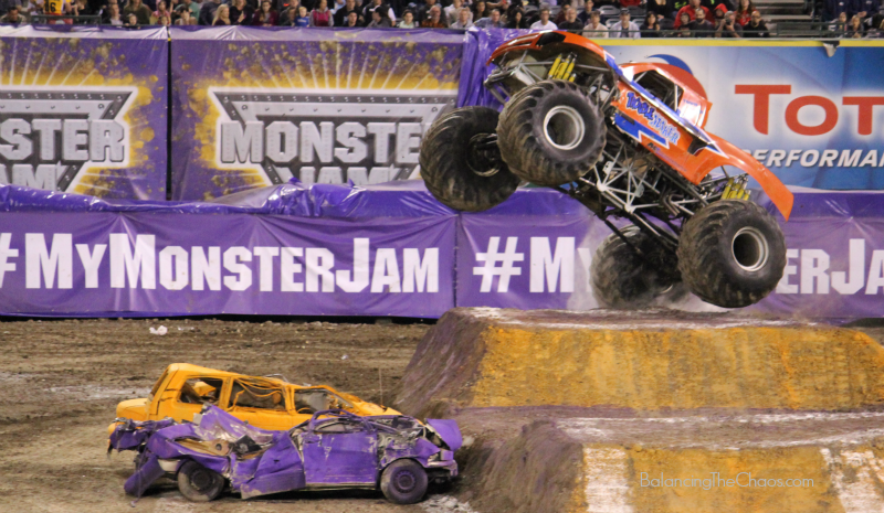 Monster Jam Flying Truck