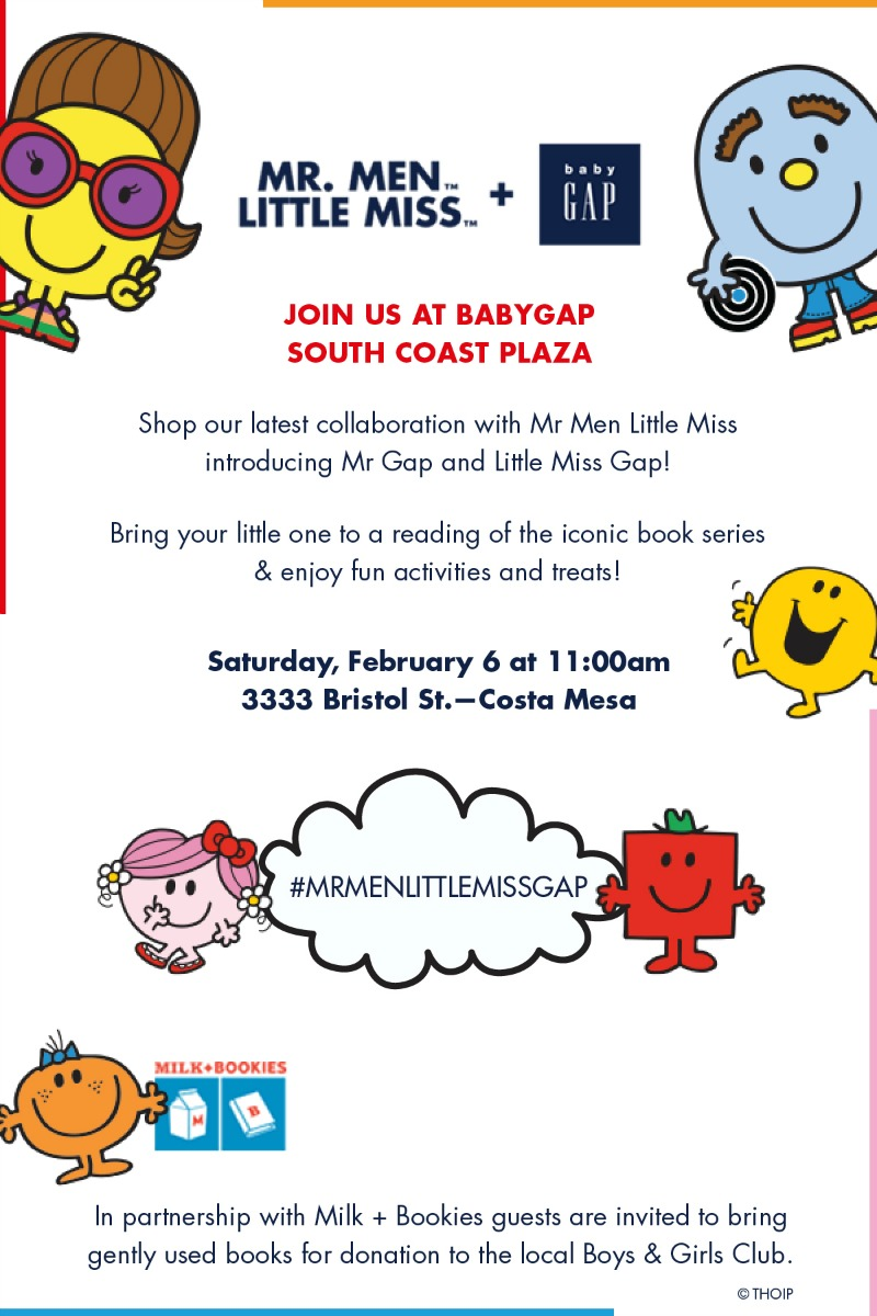 Mr Men and Little Miss Event