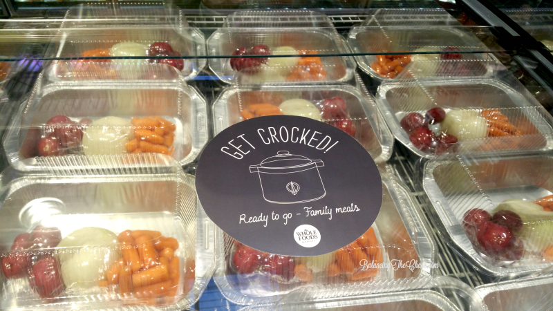 Whole Foods Get Crocked Family Meals
