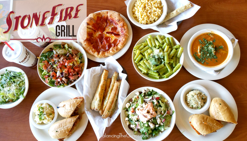 Stonefire Grill New Lunch Specials