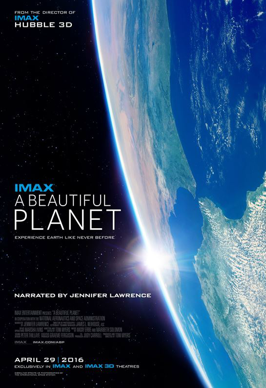 A Beautiful Planet IMAX CA Science Center