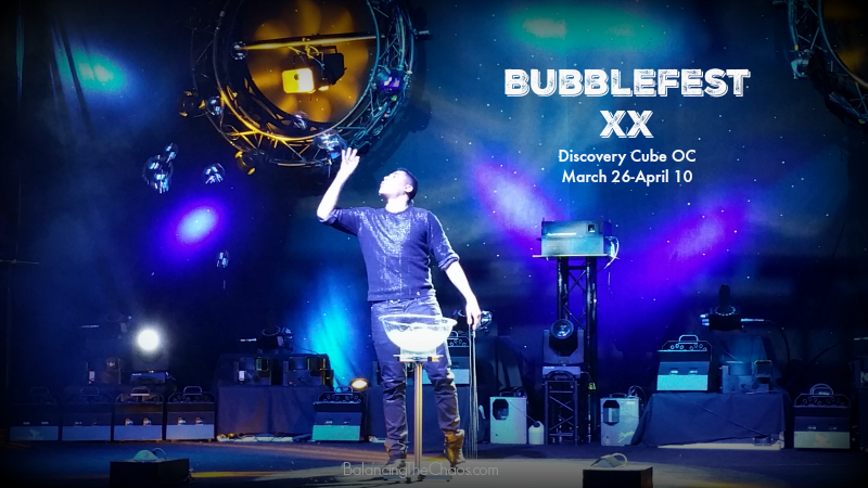 Bubblefest XX Discovery Cube OC