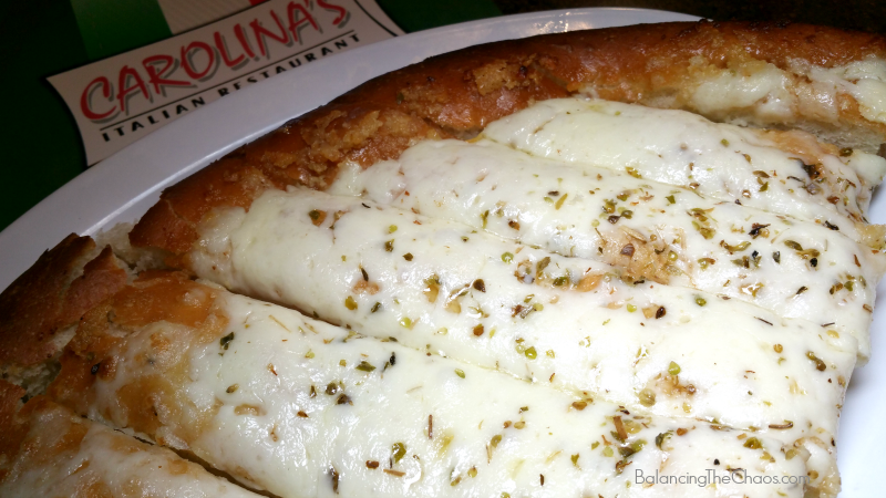 Carolinas Cheesy Bread