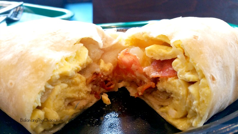 Miguels Jr Breakfast Sunrise Burrito