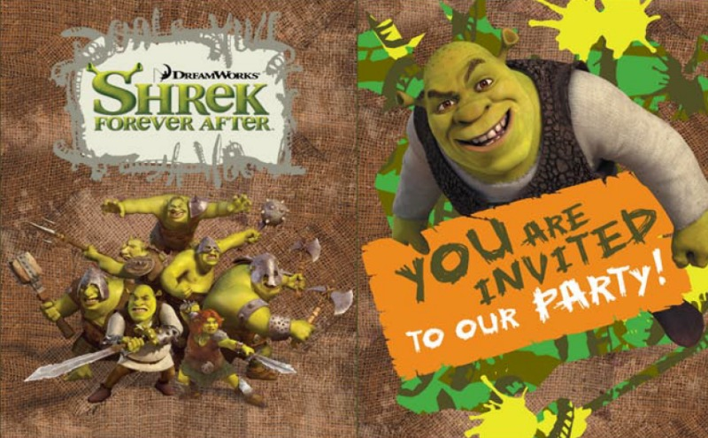 Shrek Party Printables