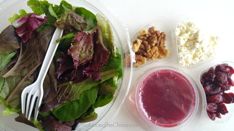 Convenient Packaging with Freshness elevAte salads at costco