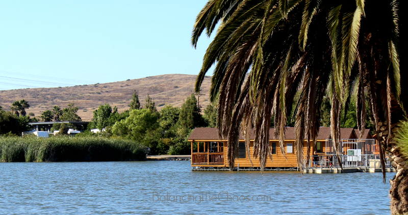 Santee Lakes Floating Cabins