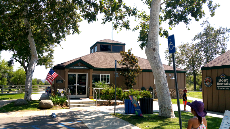 Santee Lakes Office and General Store