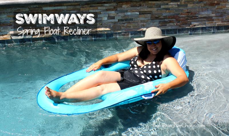 SwimWays Spring Float Recliner