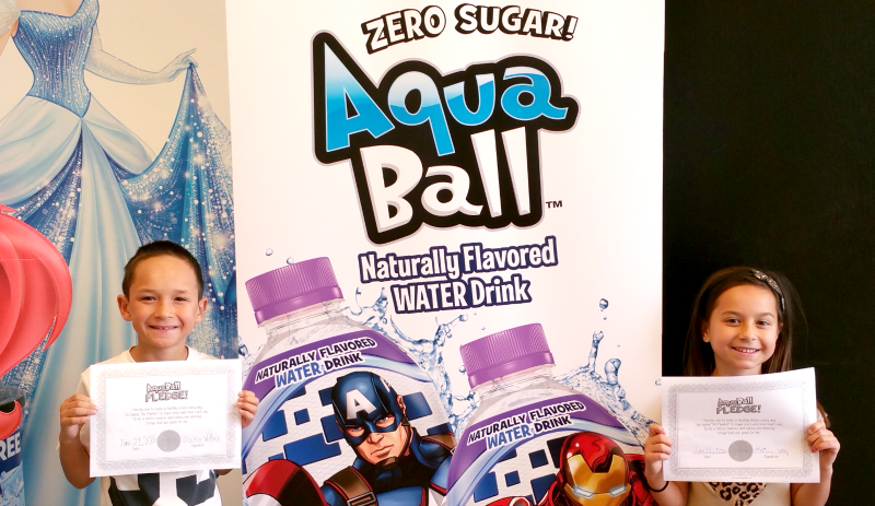 Taking the AquaBallPledge