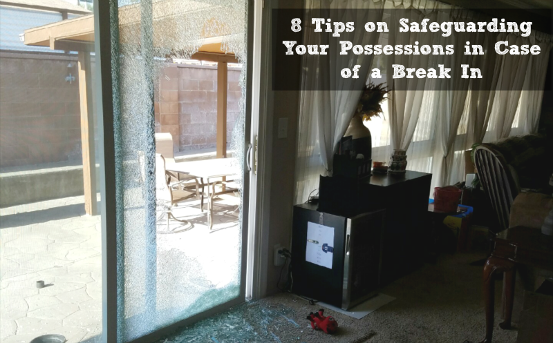 Break in safeguarding tips