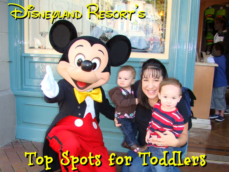 Disneyland Resort top spots for toddlers