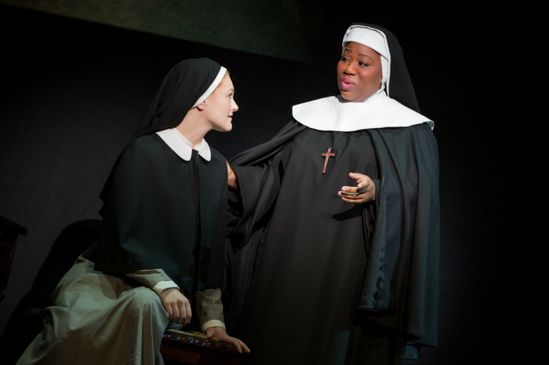 Sound of Music Maria and Mother Abbess