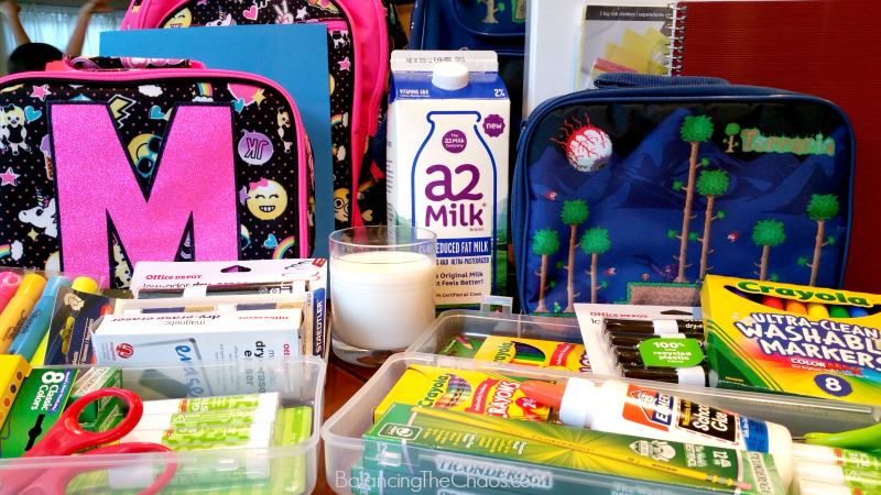back to school a2milk