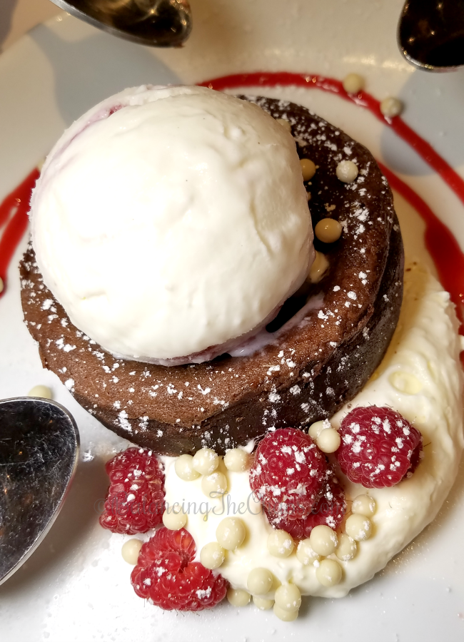 Molten Chocolate Cake Brio Tuscan Grille