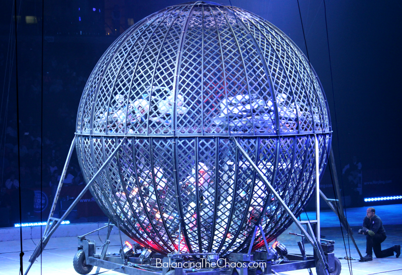 Ringling Bros Motorcycle Sphere