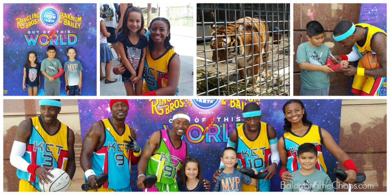 Ringling Bros Out of This World Collage
