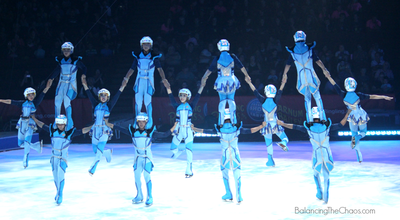 RinglingBros Ice Skaters