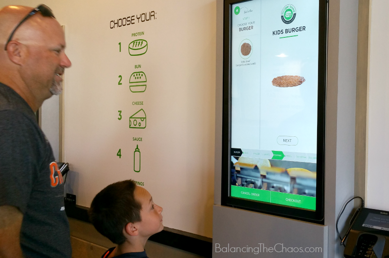 Boss Your Burger at Burger Boss Tablet