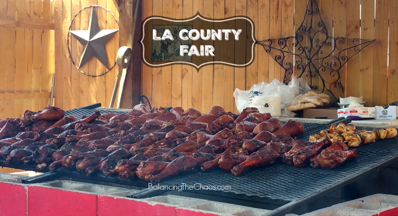 LA County Fair Turkey Legs