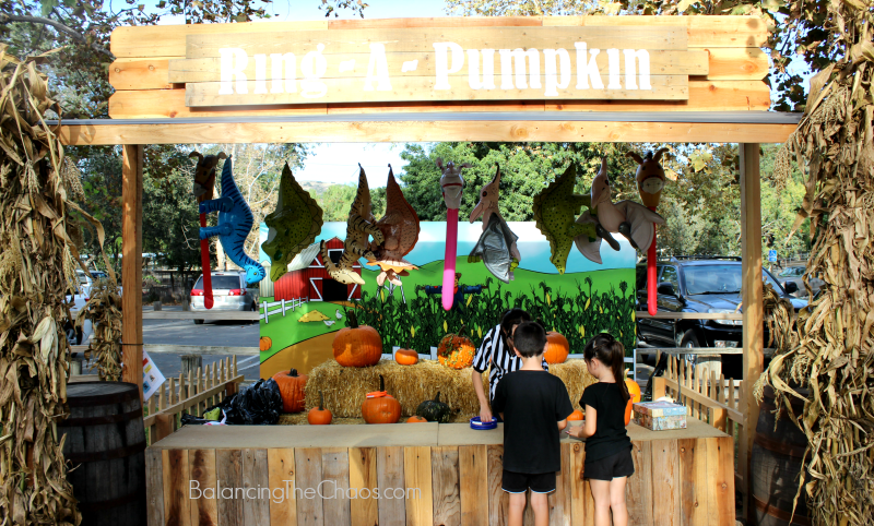Ring A Pumpkin at Irvine Park Railroad Pumpkin Patch