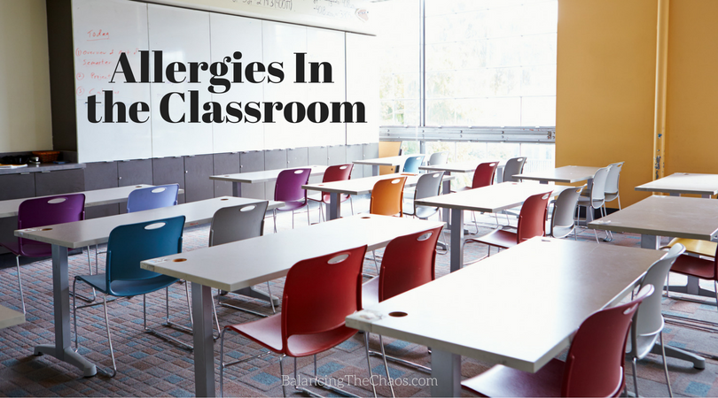 Allergies in the classroom Food allergy