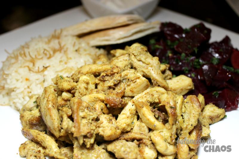 DVine Mediterranean Chicken Shawarma